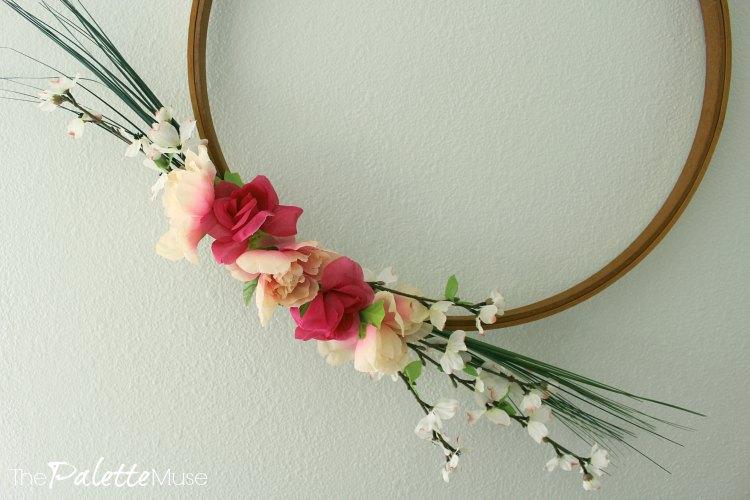 Minimalistic Spring Wreath
