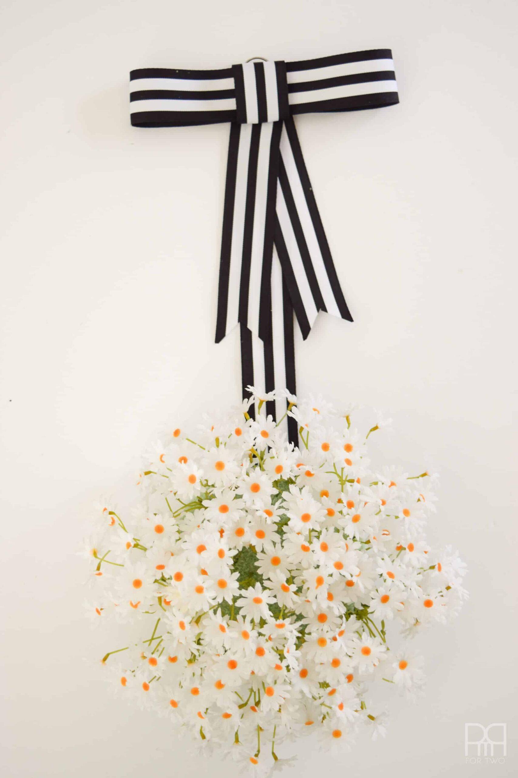Spring Wreath Ideas: Daisy Wreath