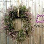 DIY Heather Wreath