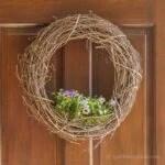 Living Grapevine Wreath