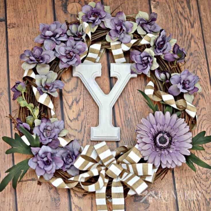Floral Grapevine Wreath: Spring Wreaths