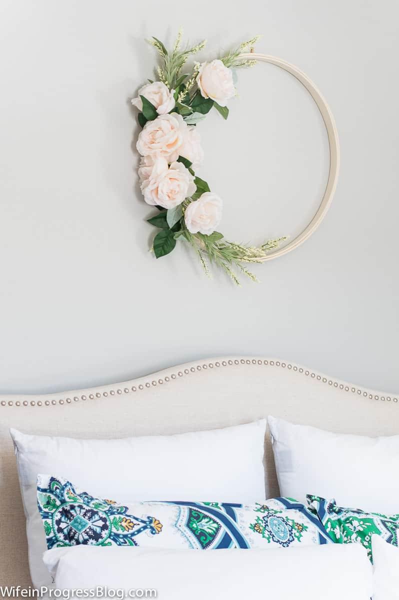 Spring wreath ideas | beautiful spring flower wreath in 20 minutes