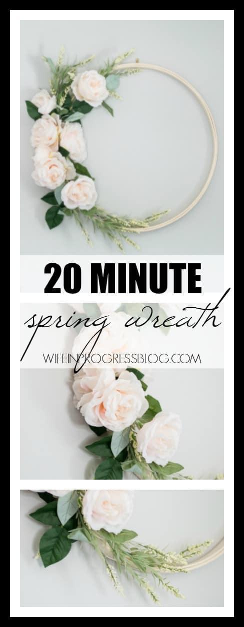 Spring wreath ideas | spring home decor | DIY spring wreaths
