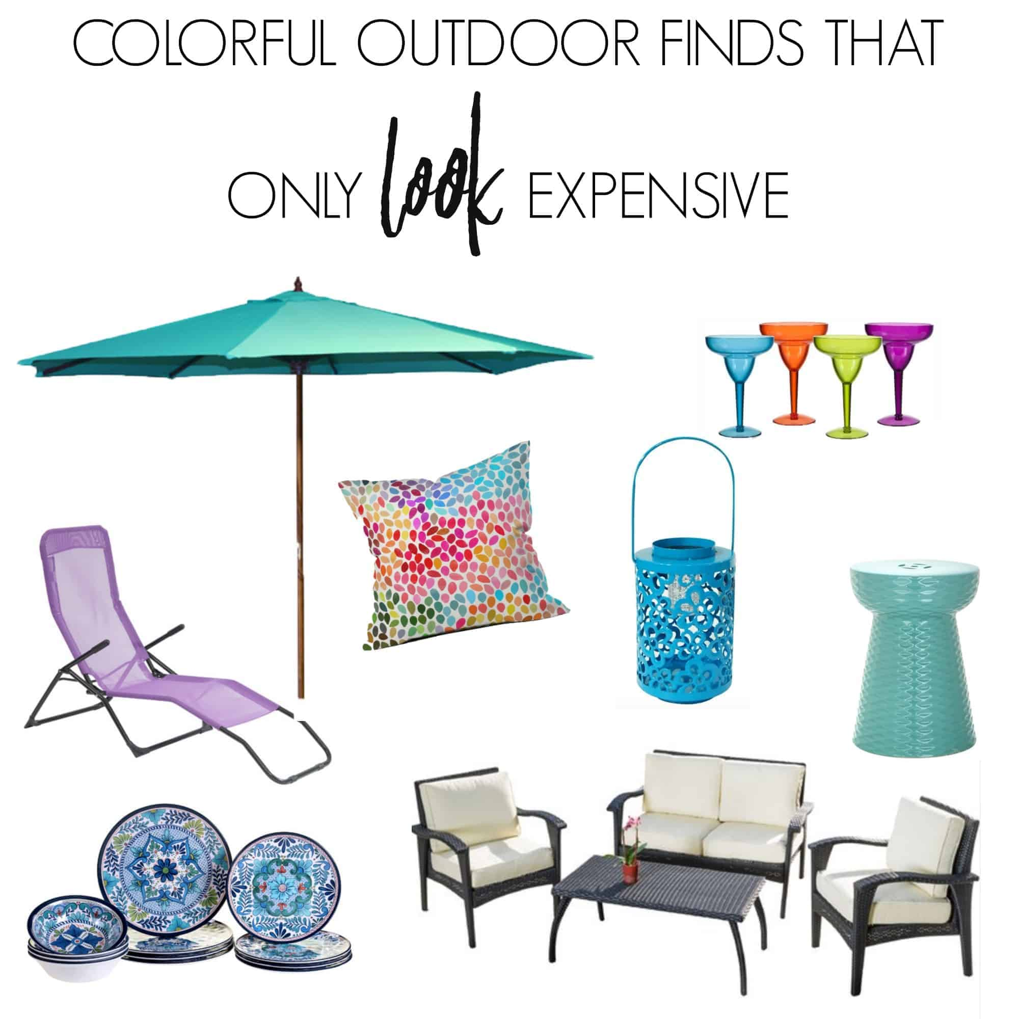 colorful outdoor finds