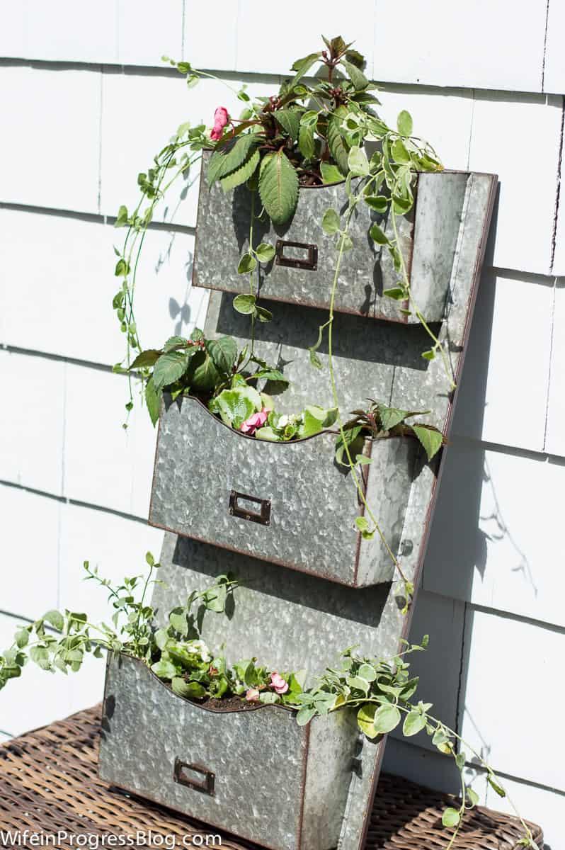DIY planter ideas | unique planter ideas | farmhouse planter