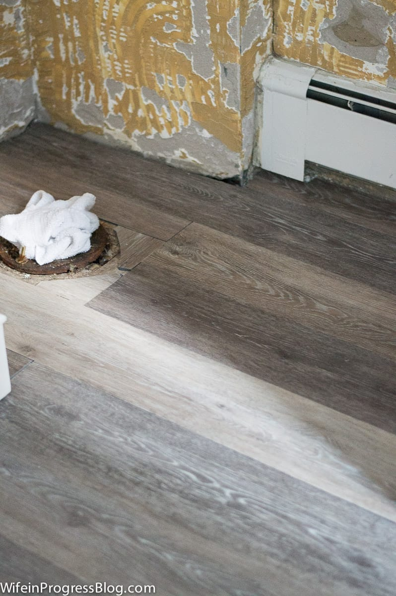 luxury vinyl plank floors