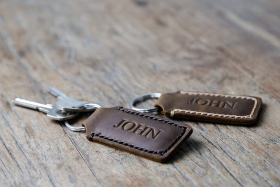 personalized keychain for Father's Day