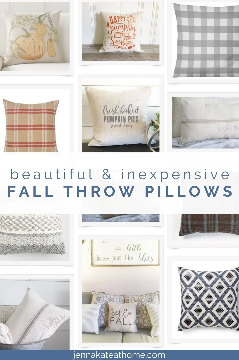 pillows for fall