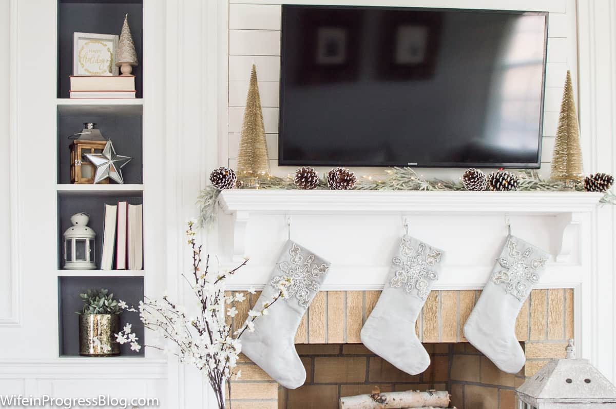 Winter wonderland Christmas decorating ideas for the home
