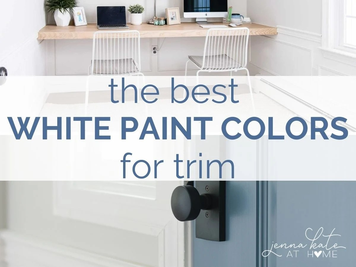 white paint for trim and molding