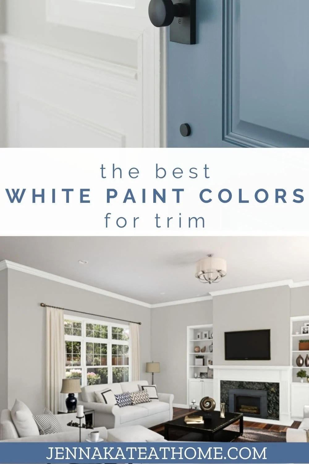 the best white paint colors for trim from benjamin moore and sherwin williams