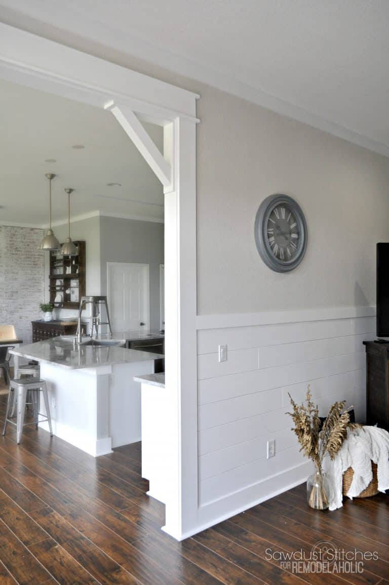 Corbels are a simple way to add architectural interest
