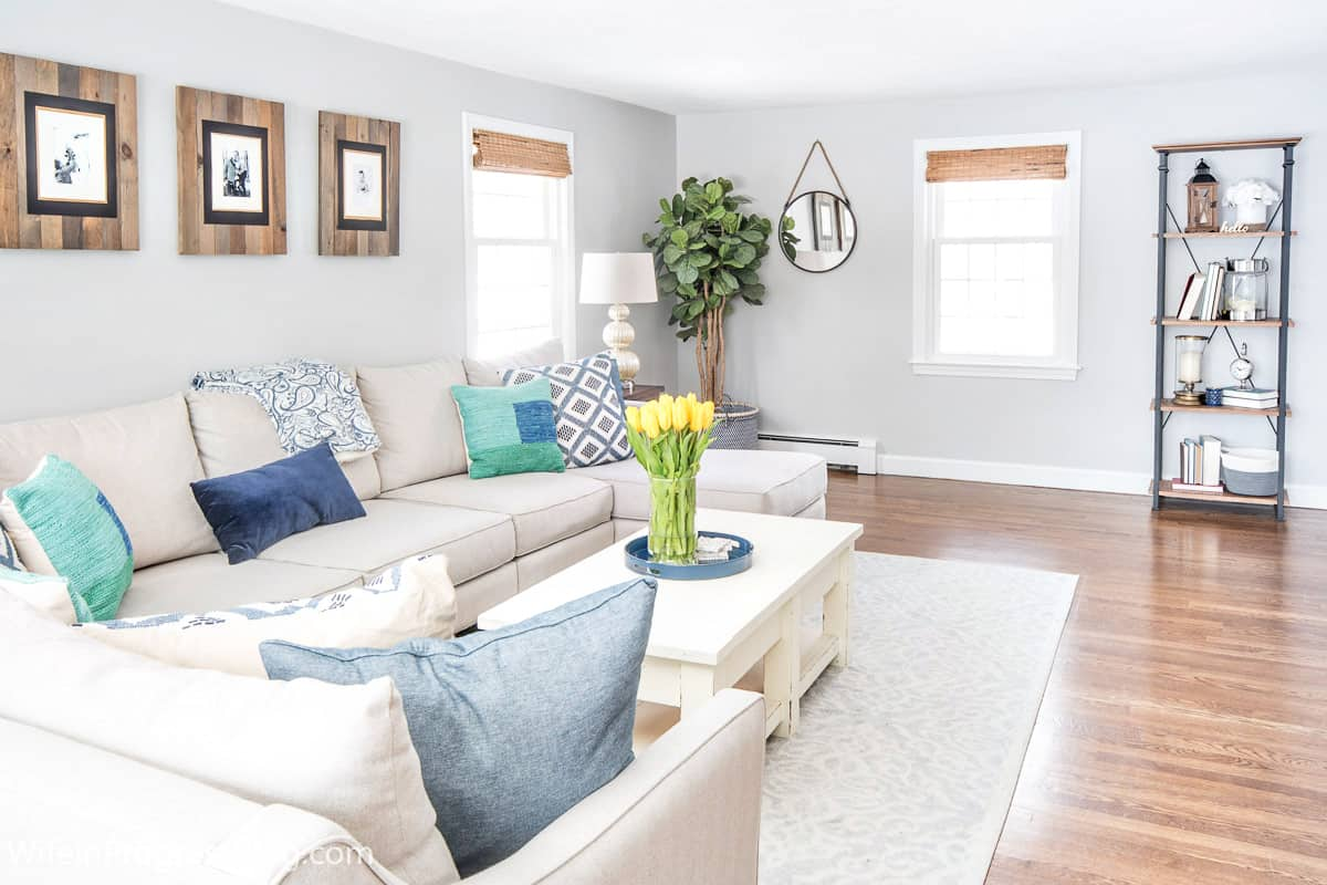navy blue and green living room decor color combinations