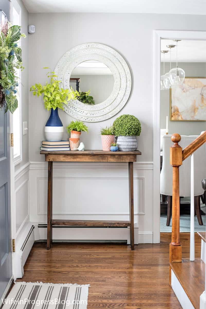 spring entryway ideas