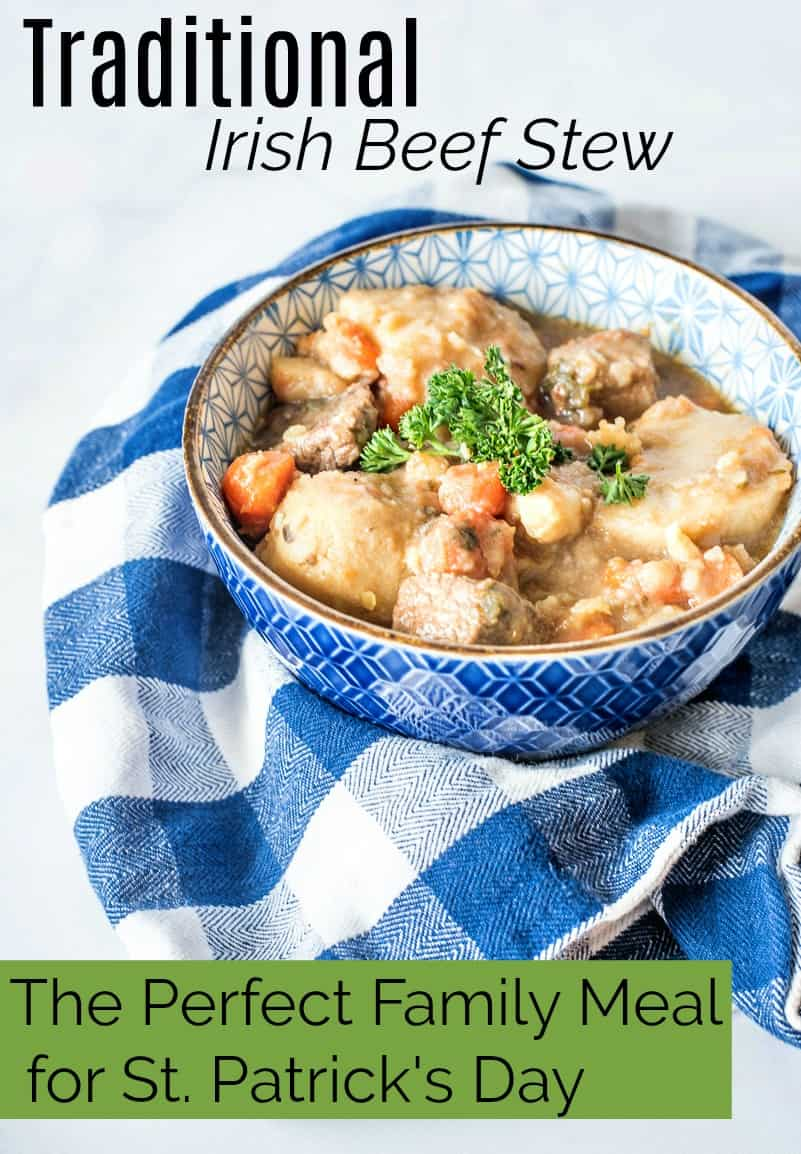 Traditional Irish Stew Recipe for St. Patrick's Day