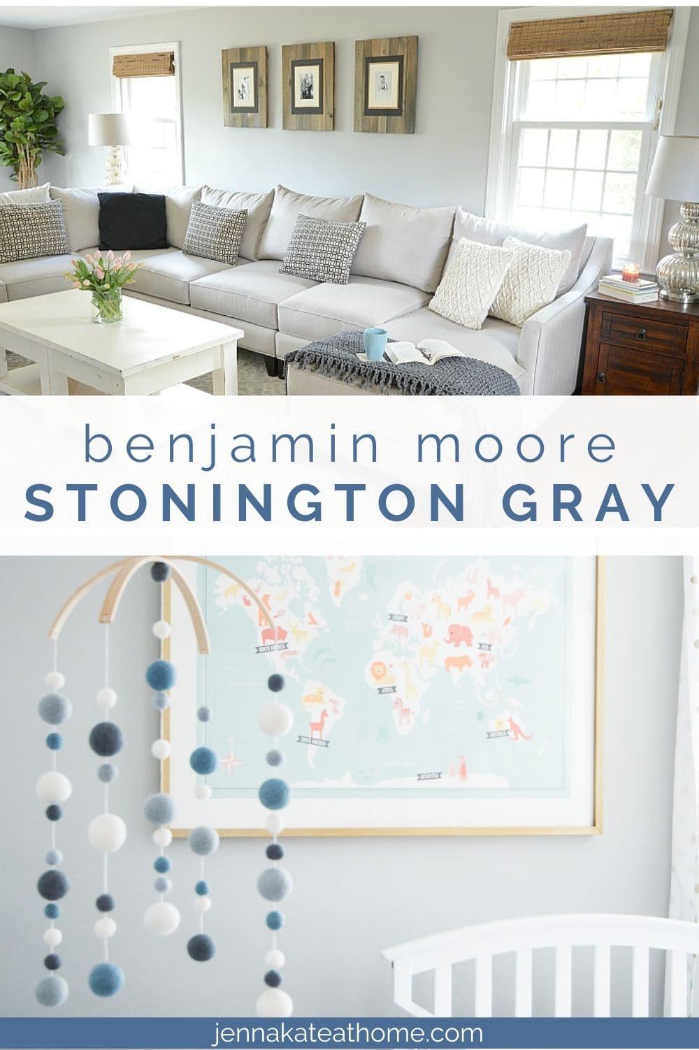 benjamin moore stonington gray paint review