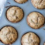 Healthy toddler muffins no added refined sugar and dairy free