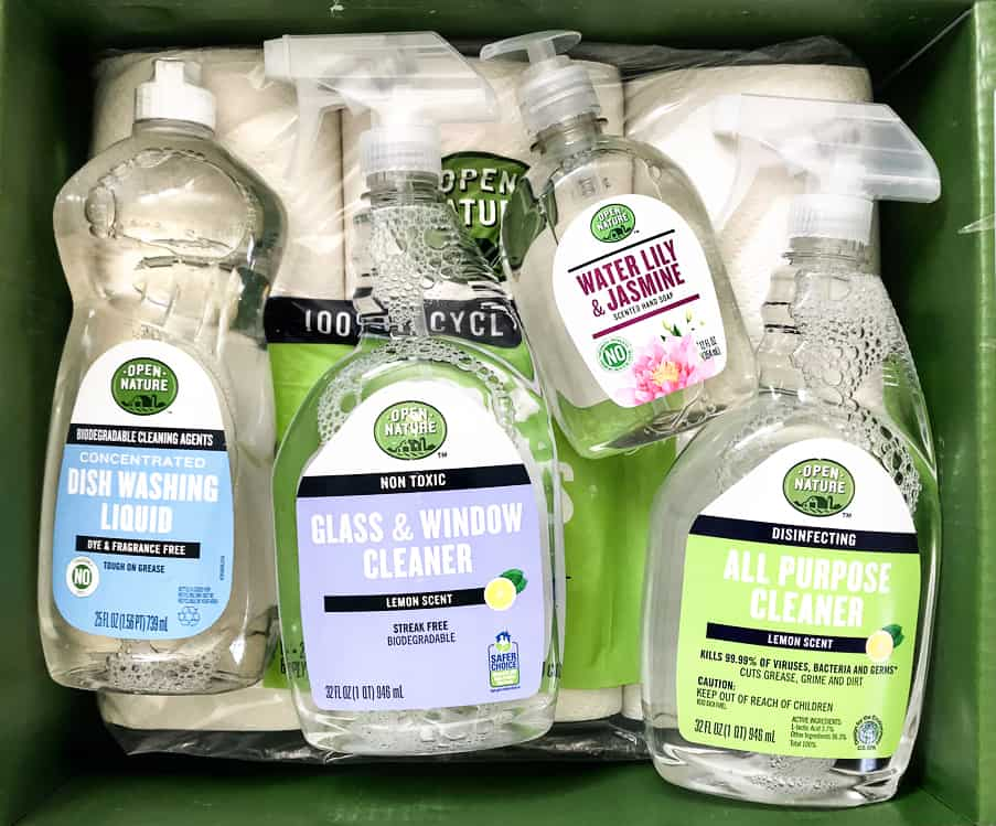 Open Nature Cleaning Products Exclusively at Shaw's & Star Market Stores