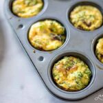Mini quiches are a great toddler, kid and adult-friendly breakfast to grab and go!