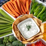 The best veggie dip recipe you will ever try - better than anything you can buy at the store!