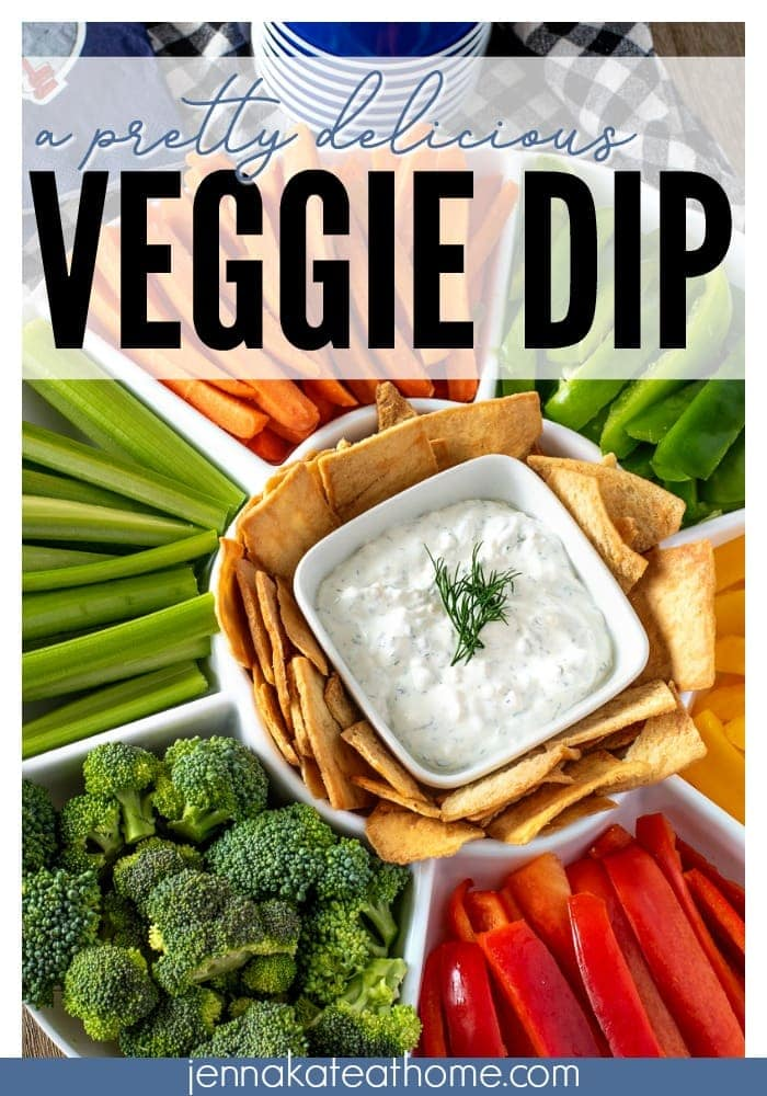 The best veggie dip ever made with only 5 simple ingredients