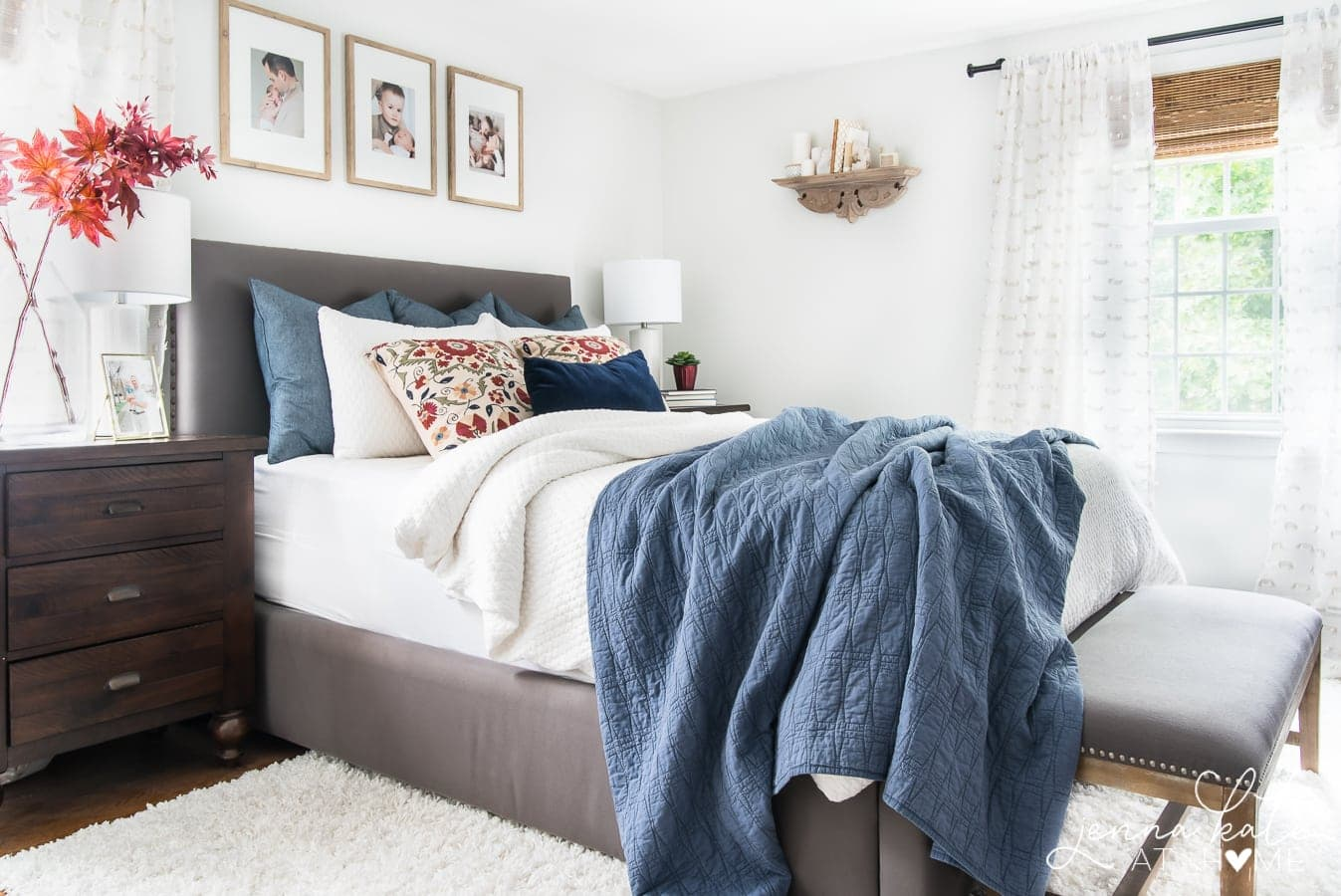 Create a cozy bedroom this fall with these simple decorating ideas