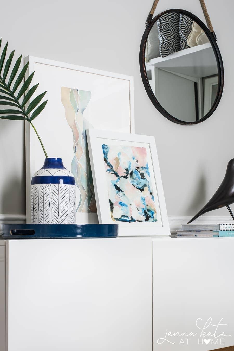 Simple home office decor ideas