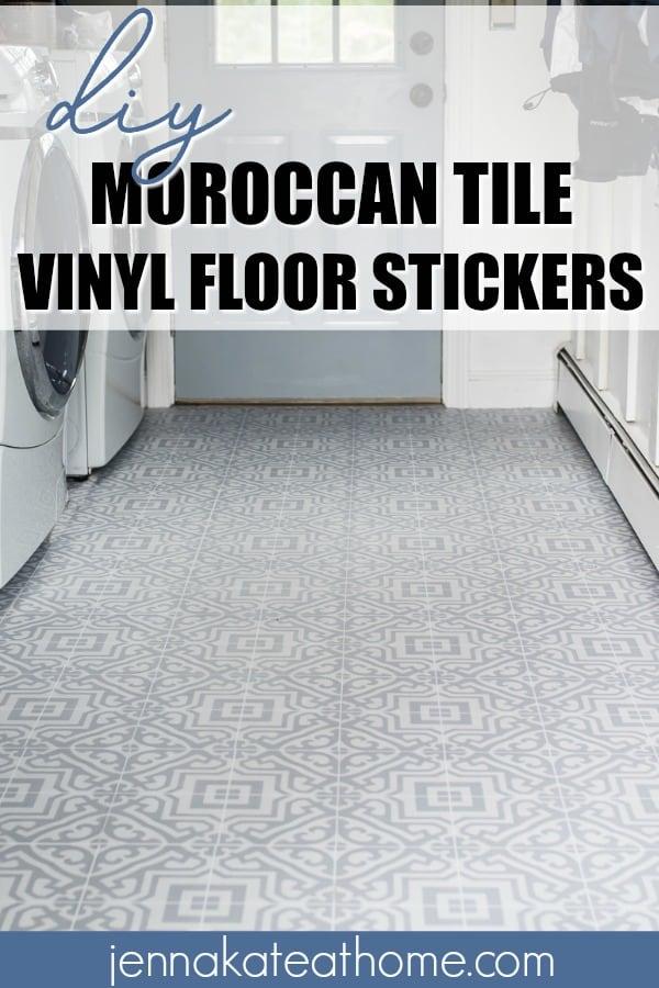 easy DIY laundry room flooring ideas