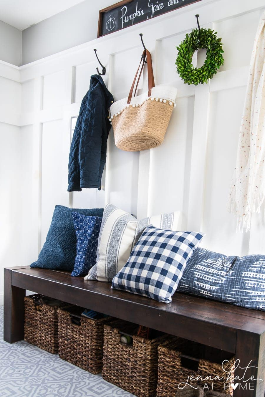 small laundry room organization ideas