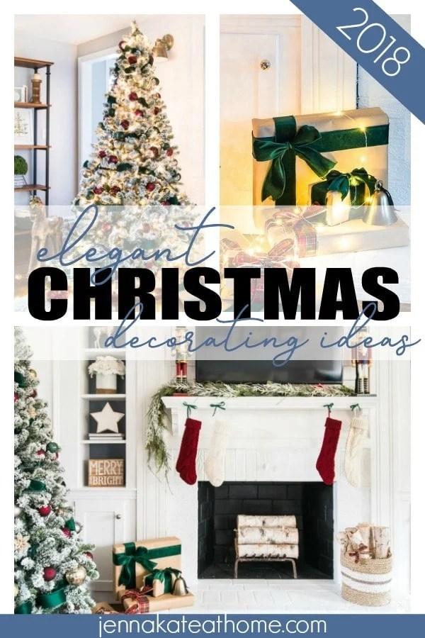 Elegant Christmas Tree Decorating ideas for 2018.