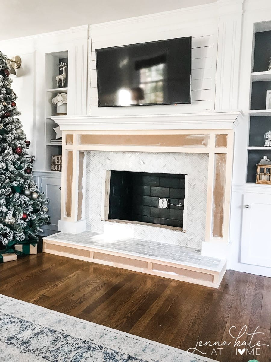 How to make a fireplace surround from MDF