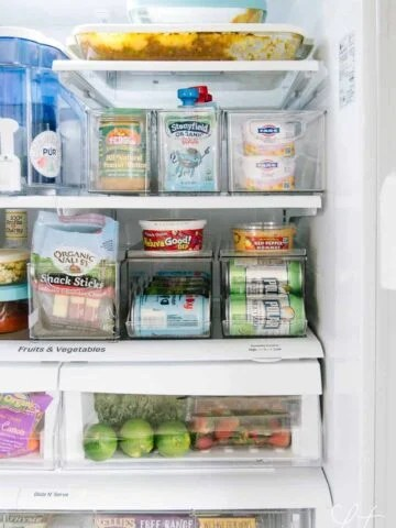 How to arrange everything in your fridge at home