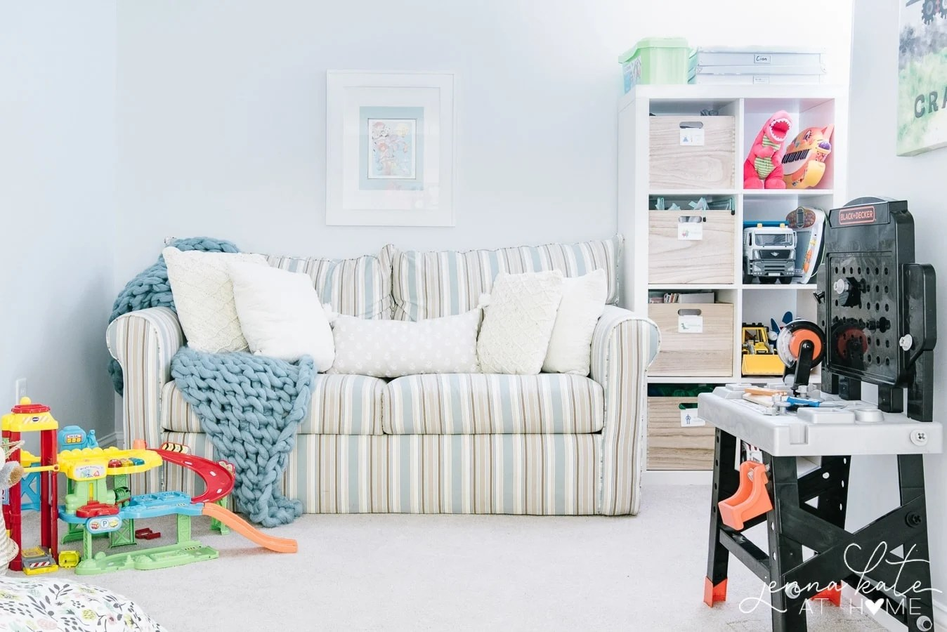 Learn how to control toy clutter with these clever ideas