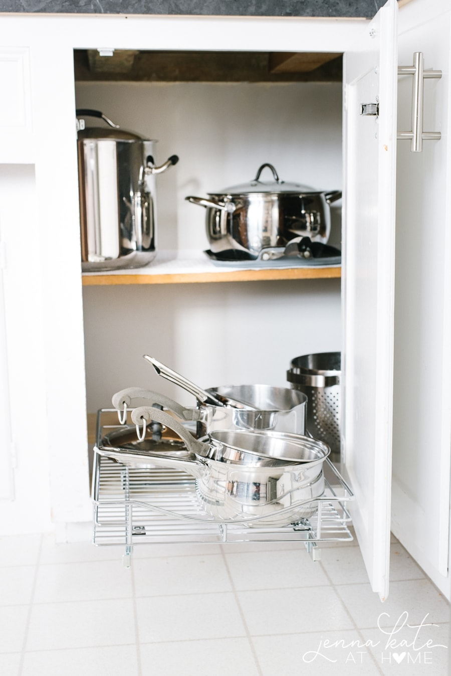 The best organizer for deep kitchen cabinets