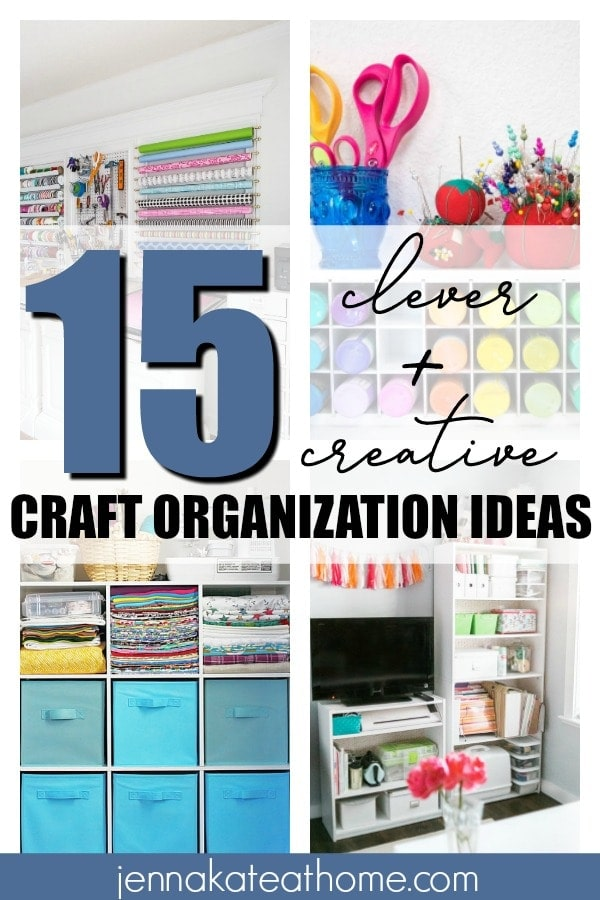 Craft Organization Ideas pinterest