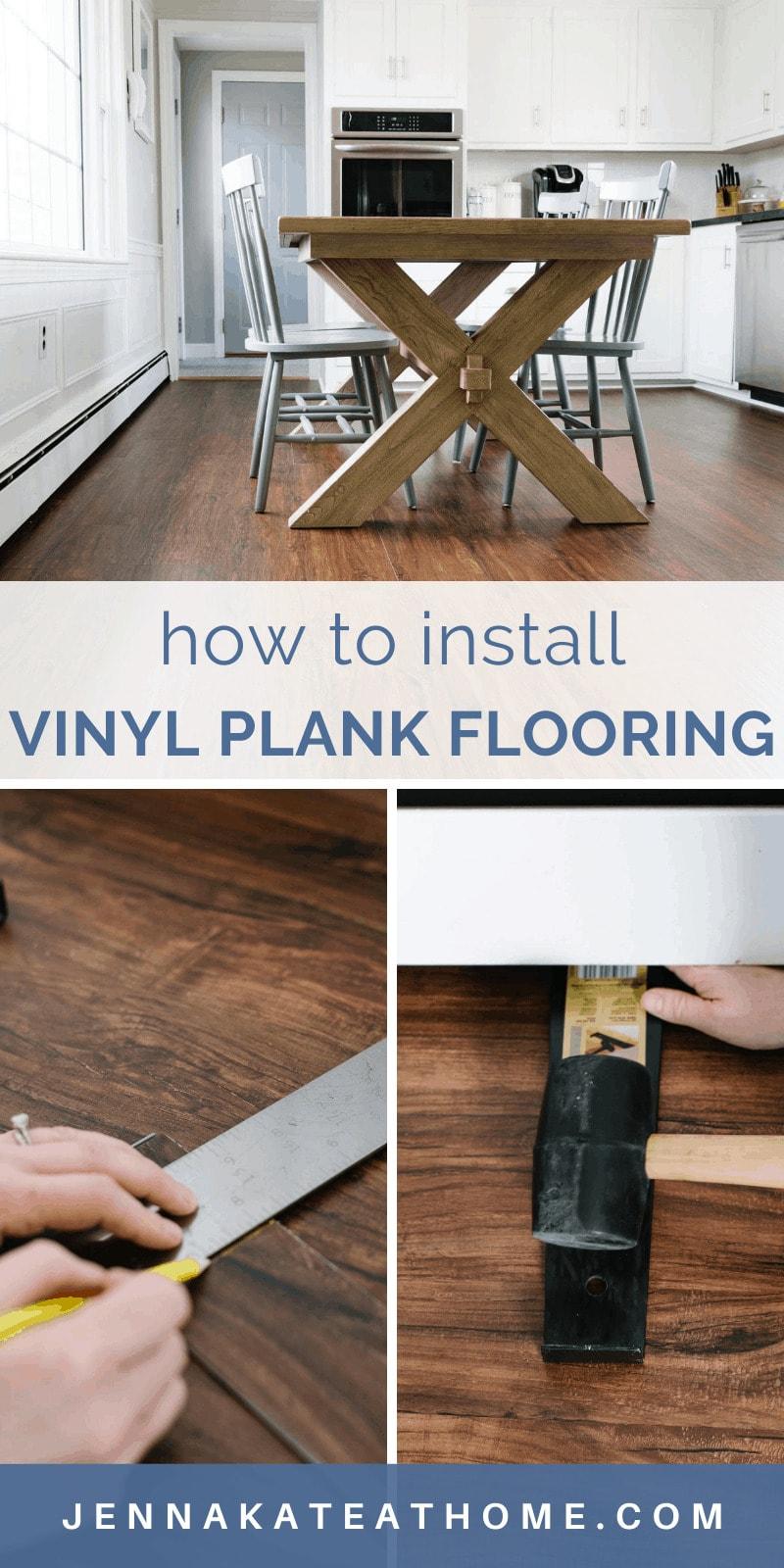 how to install vinyl plank flooringå