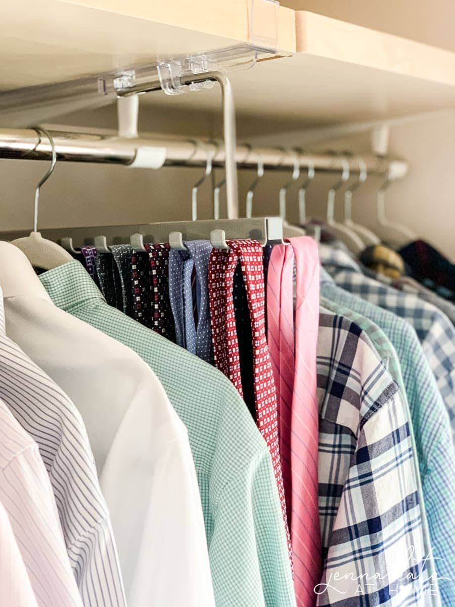 How to make the most out of a small mens walk in closet