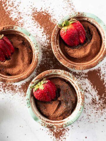 chocolate avocado pudding easy gluten free and vegan