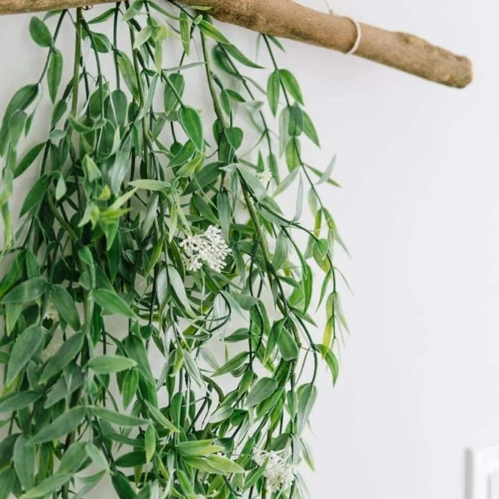 How to Make Your Own Branch Wall Hanging
