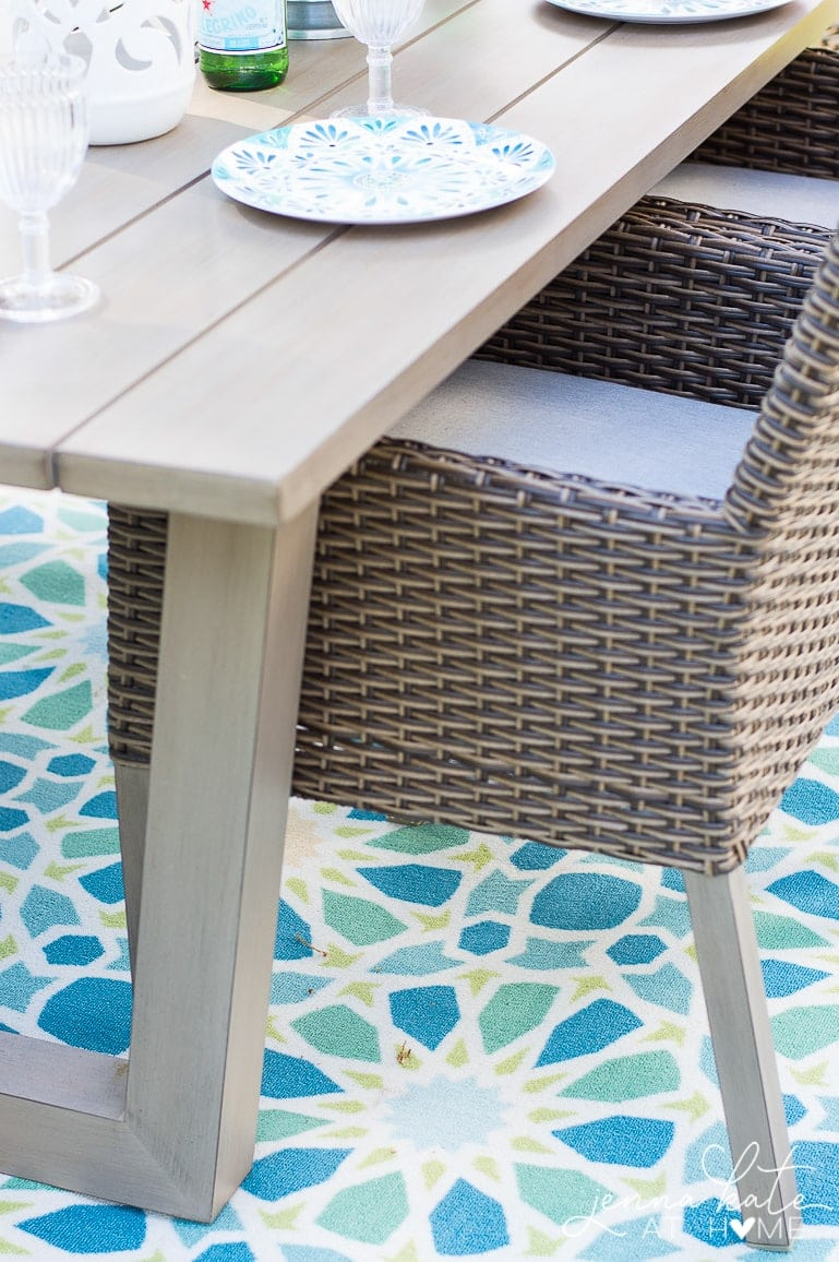 Summer entertaining is made easier with affordable, durable outdoor dinnerware