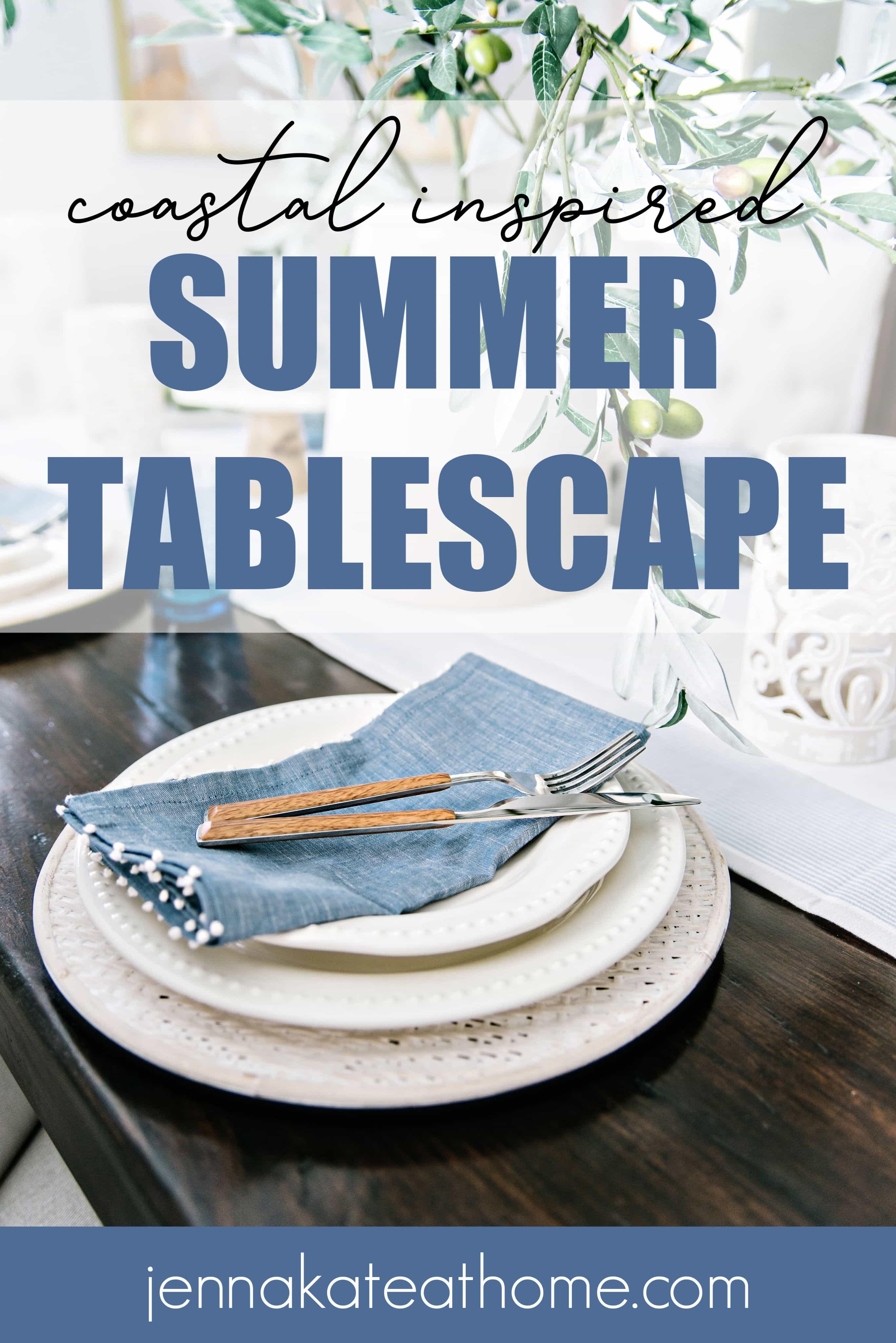 summer tablescape ideas Pinteret