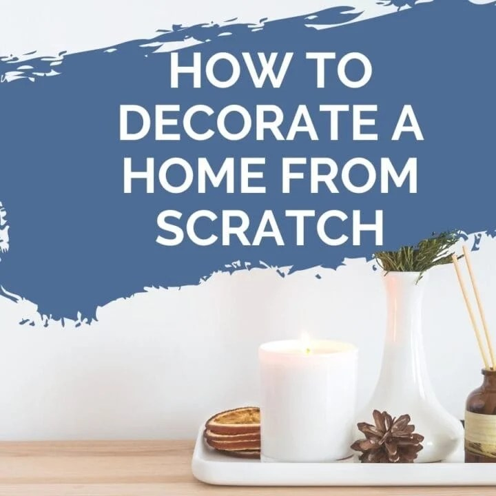 how to decorate from scratch