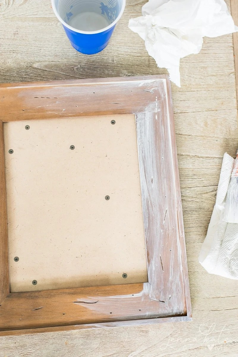 How to easily white wash wood