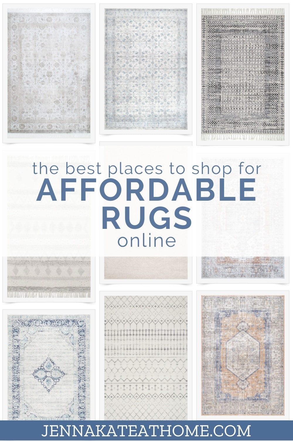 the best places to shop for affordable rugs online