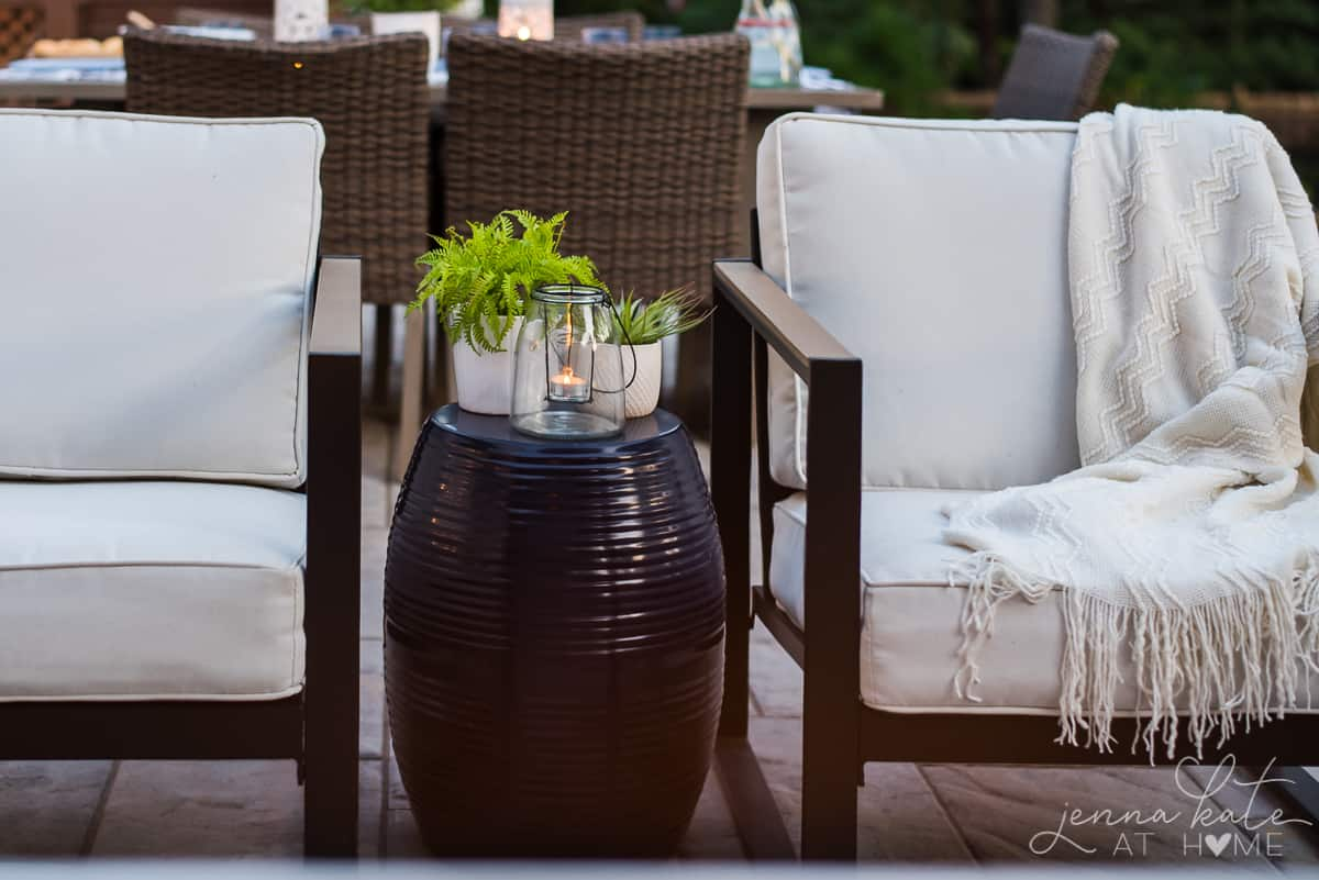 Affordable outdoor furniture is the key to a comfortable and stylish outdoor patio space