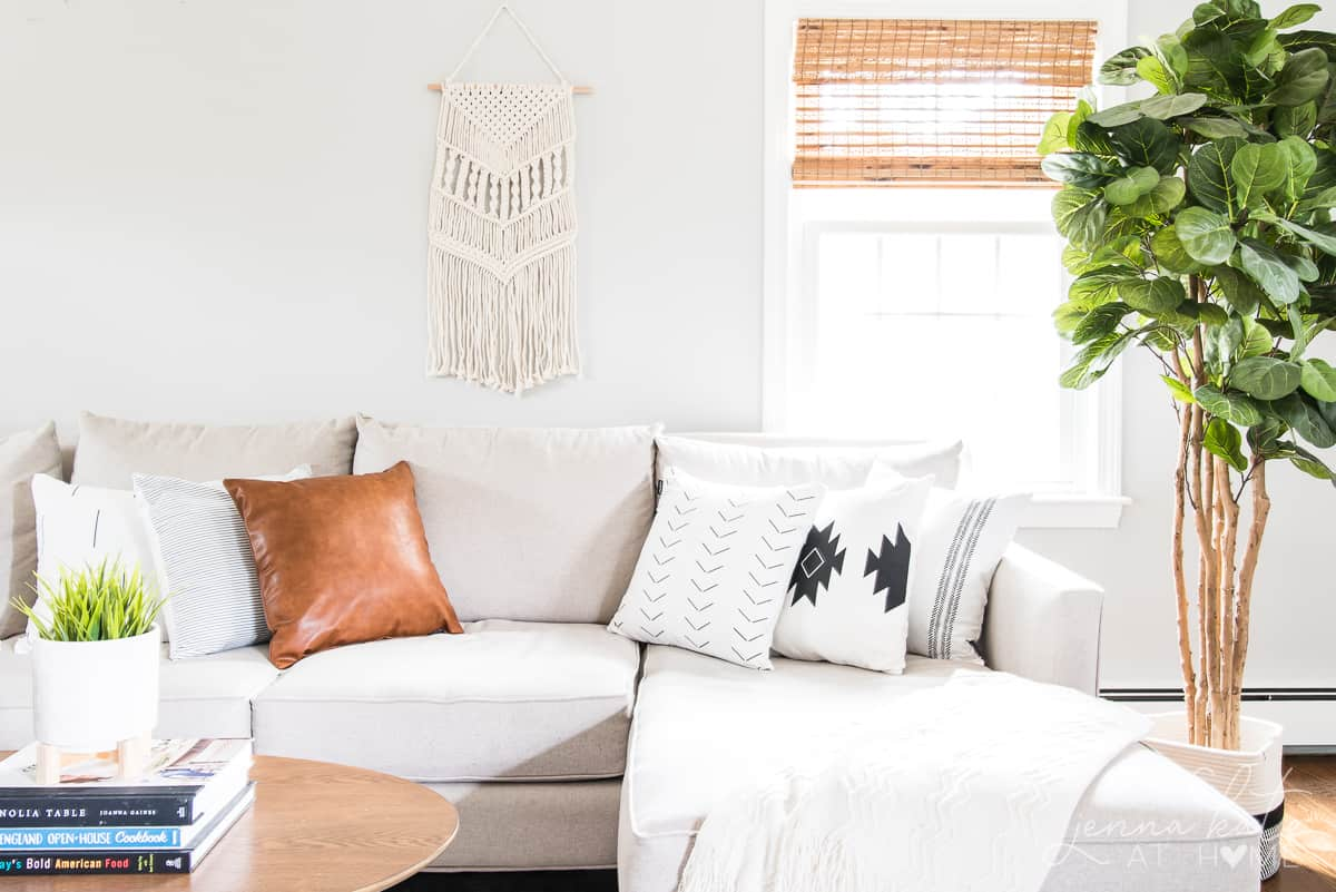 Boho Home Decor Get The Look On A Budget Jenna Kate At Home