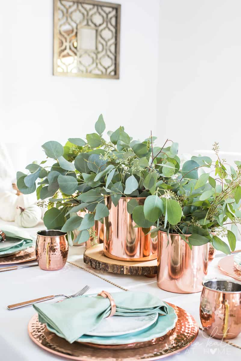 Fall table setting ideas that are simple