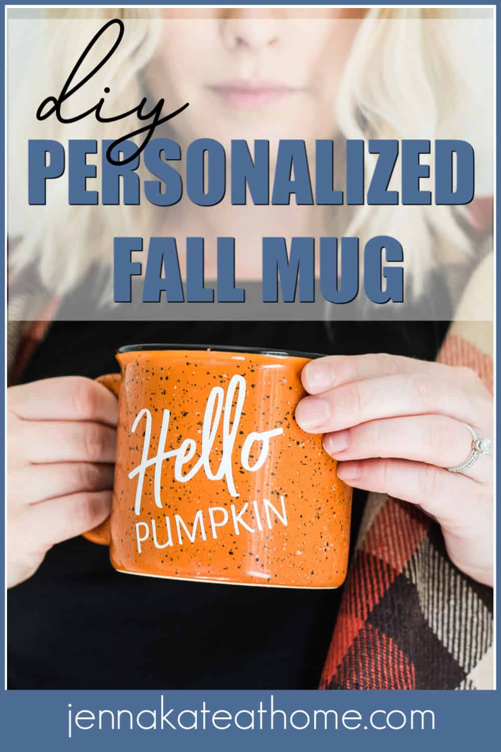 diy personalized mug for fall