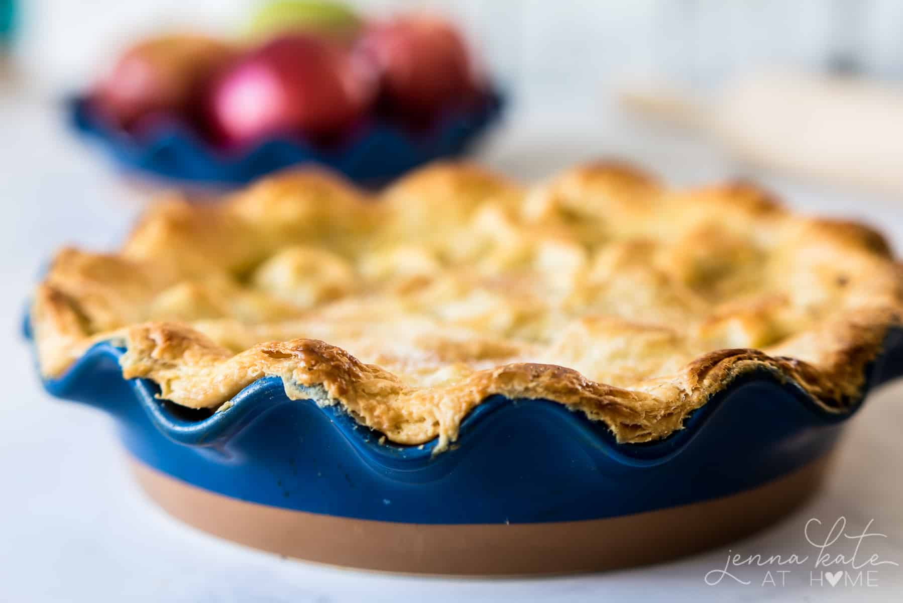 This super easy, all butter flaky pie crust never fails!