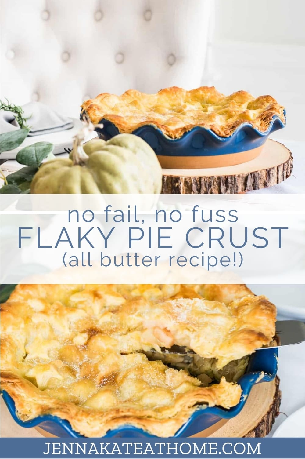 no fuss pie crust recipe